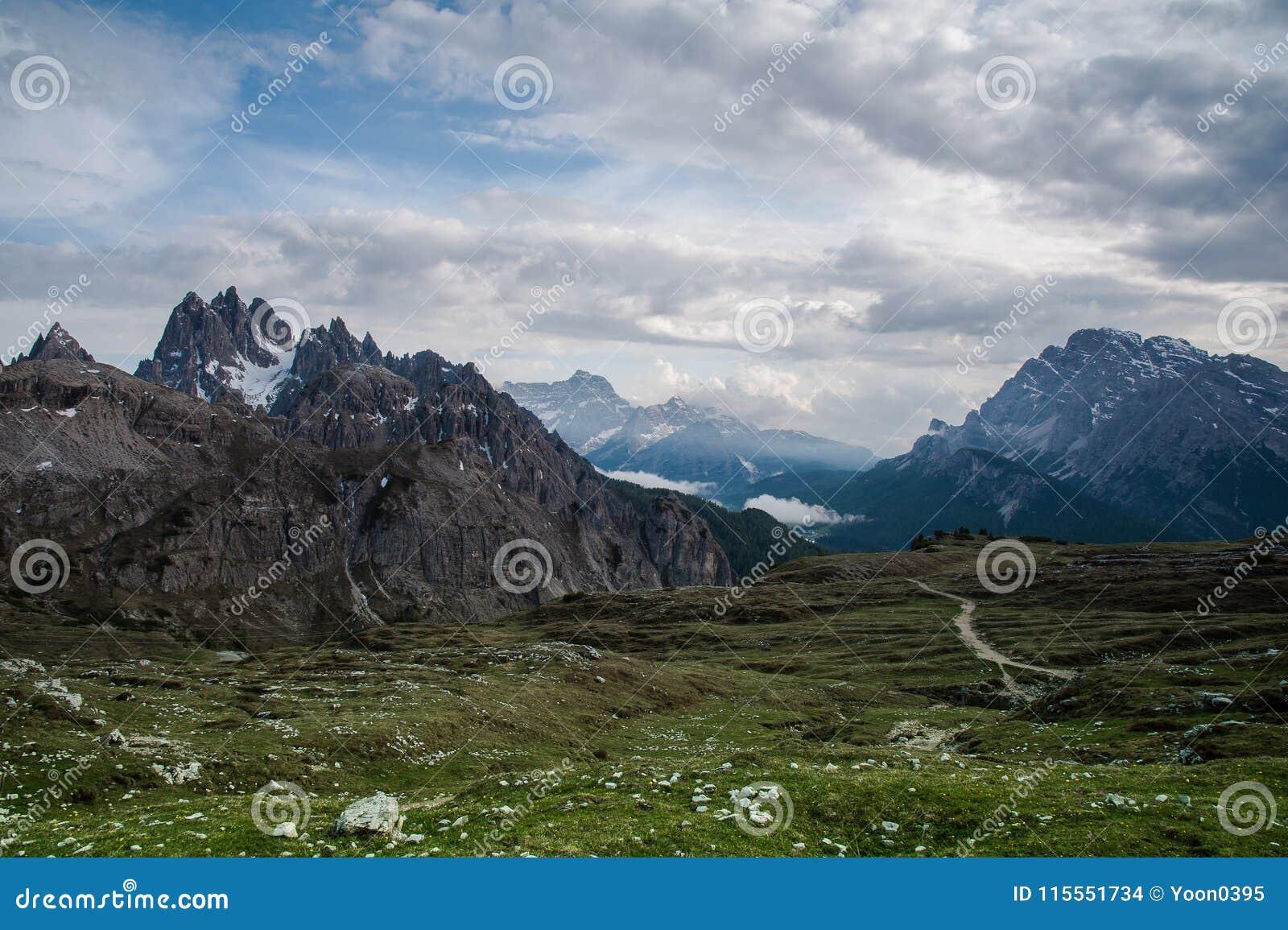 Het Dolomiet, Noordelijk Italië