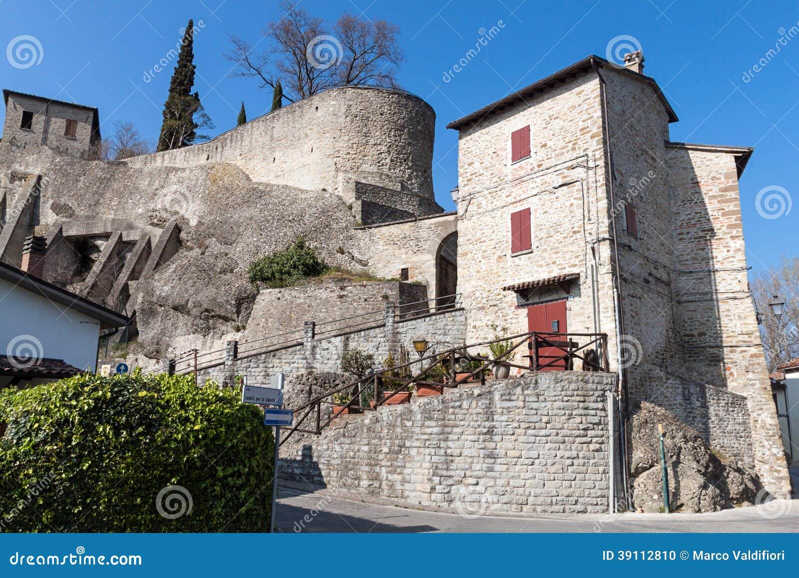 Het dorp van Cusercoli