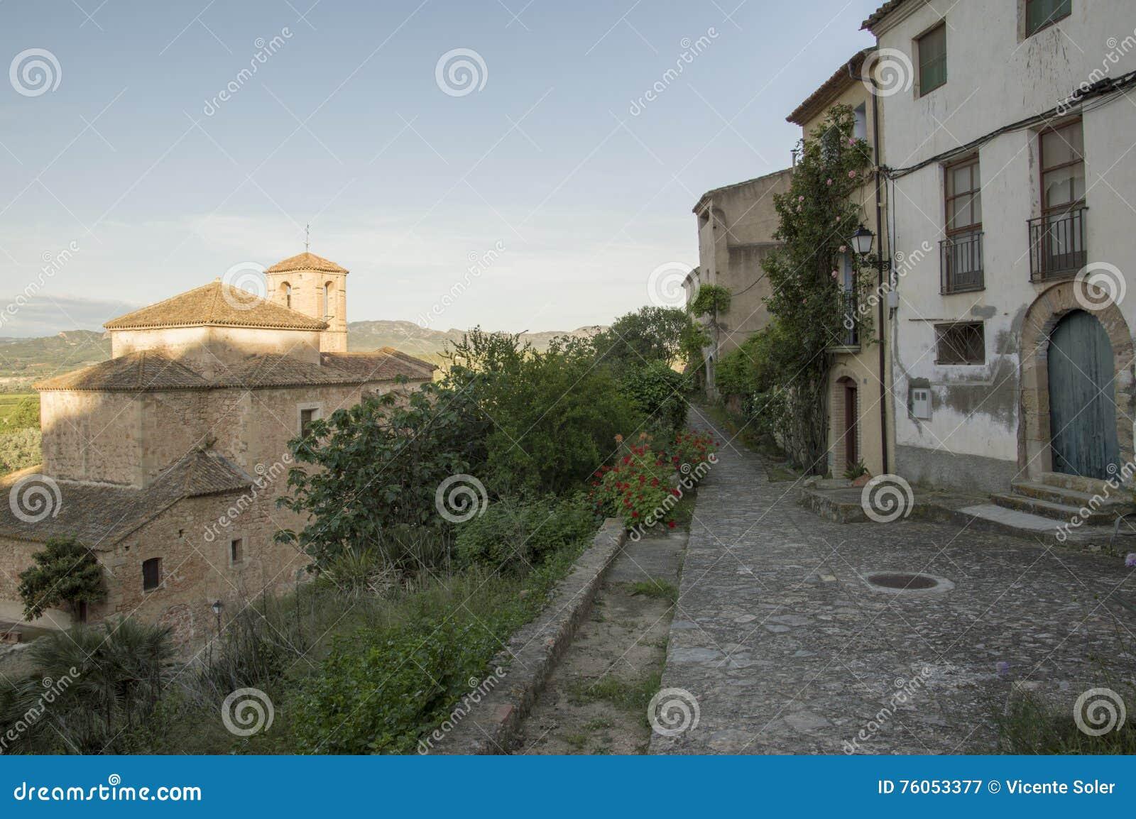 Het dorp van Miravet