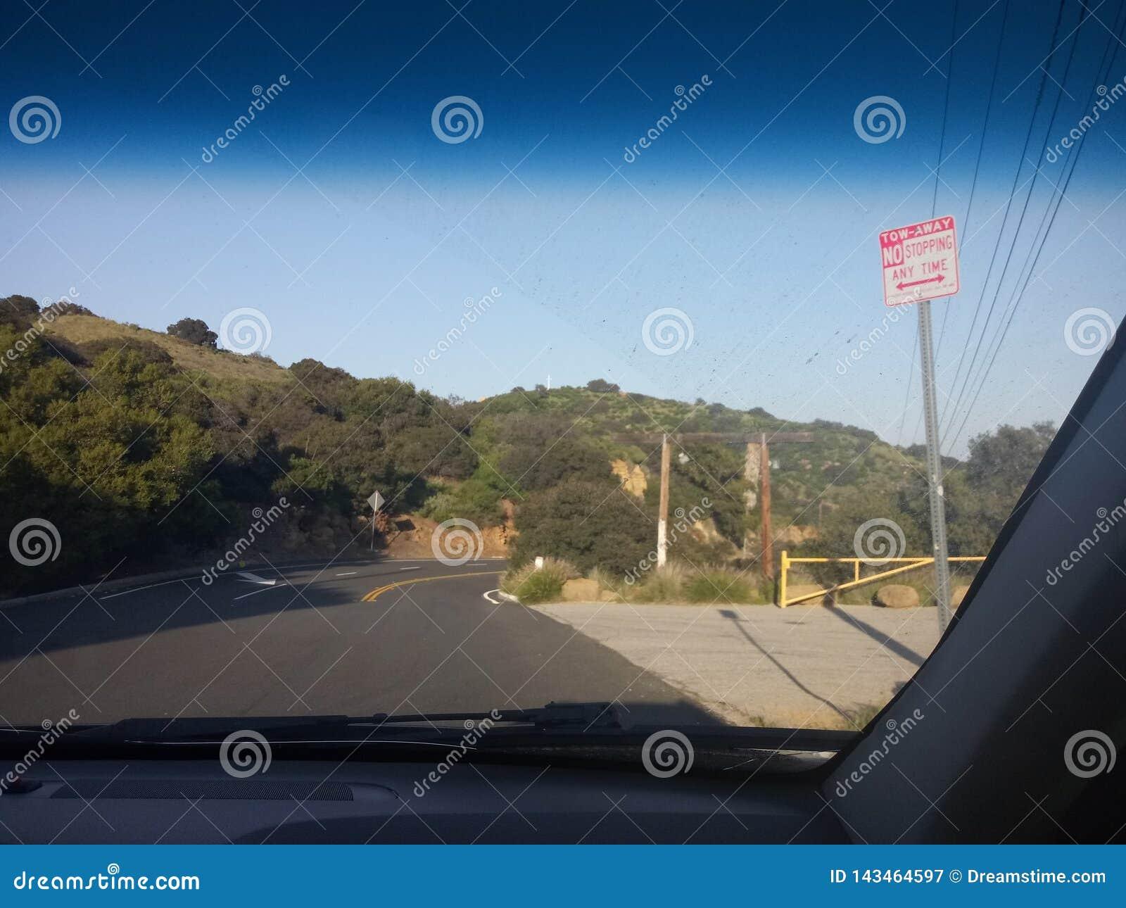 Het drijven door Californië