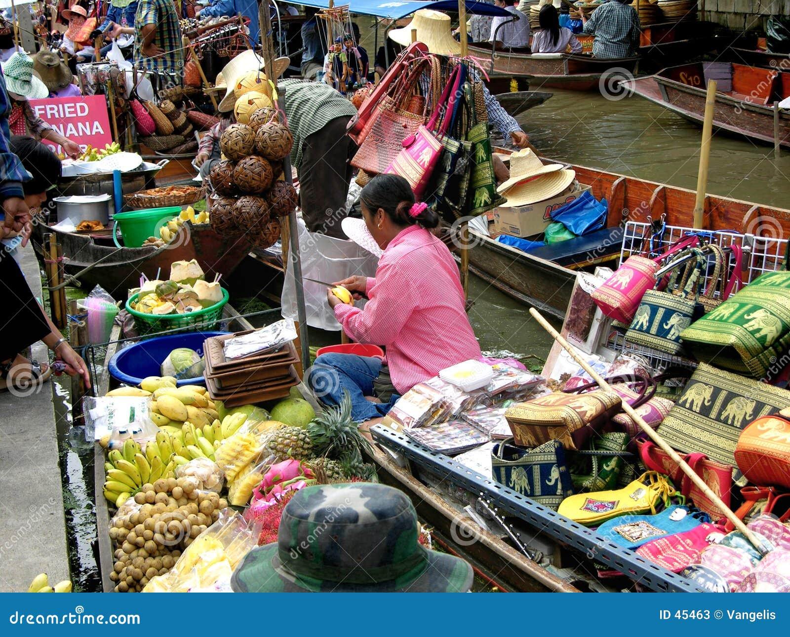 Het drijven Markt