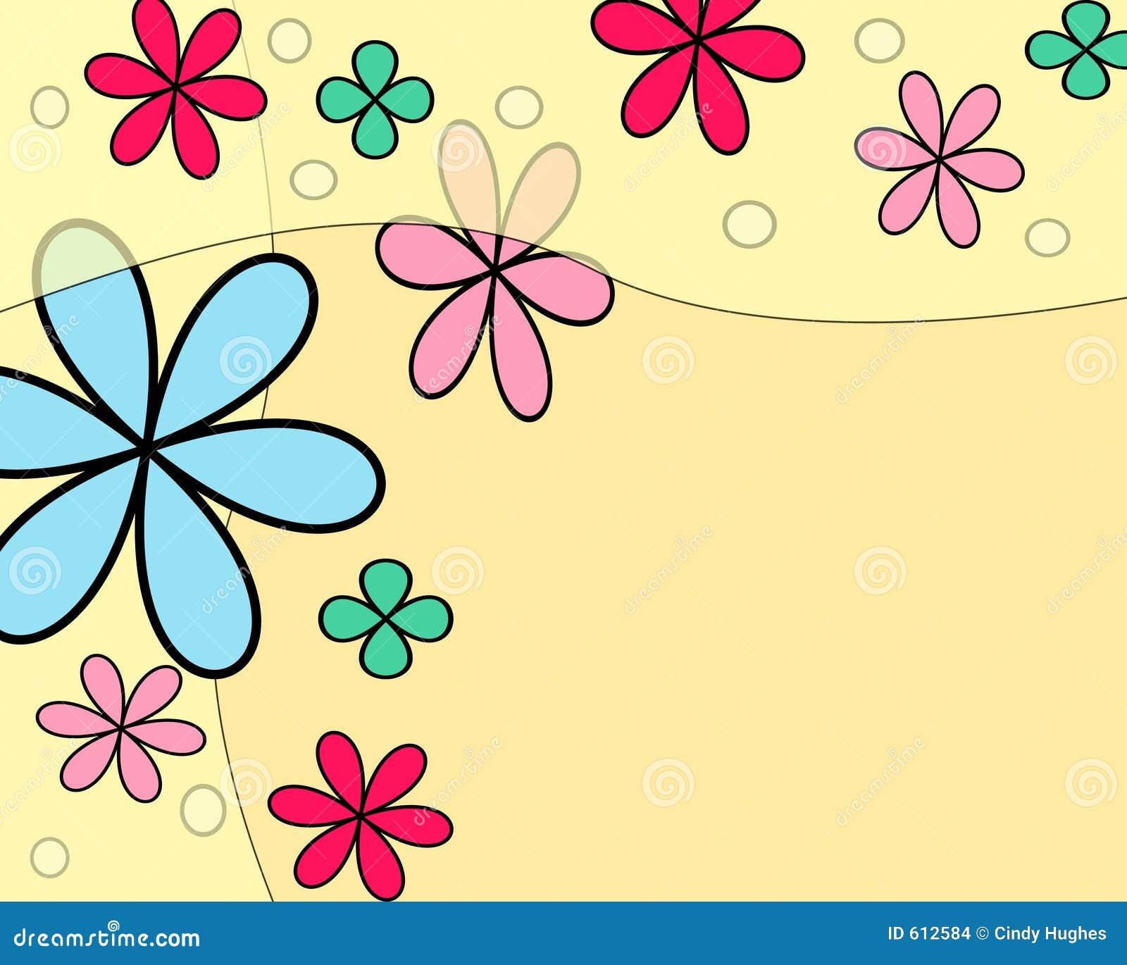 Het drijven van bloemen