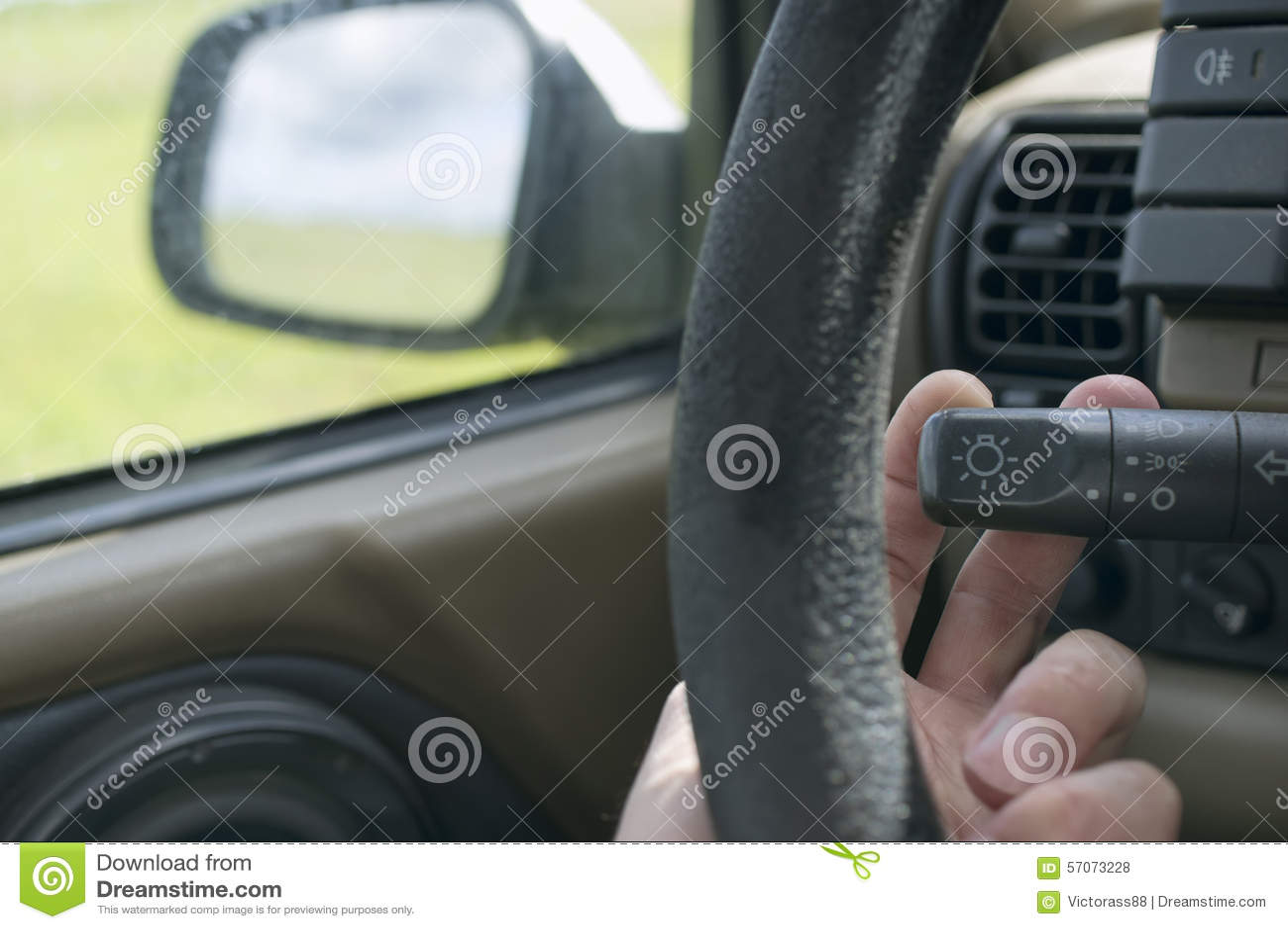 Het drijven van een mening Car
