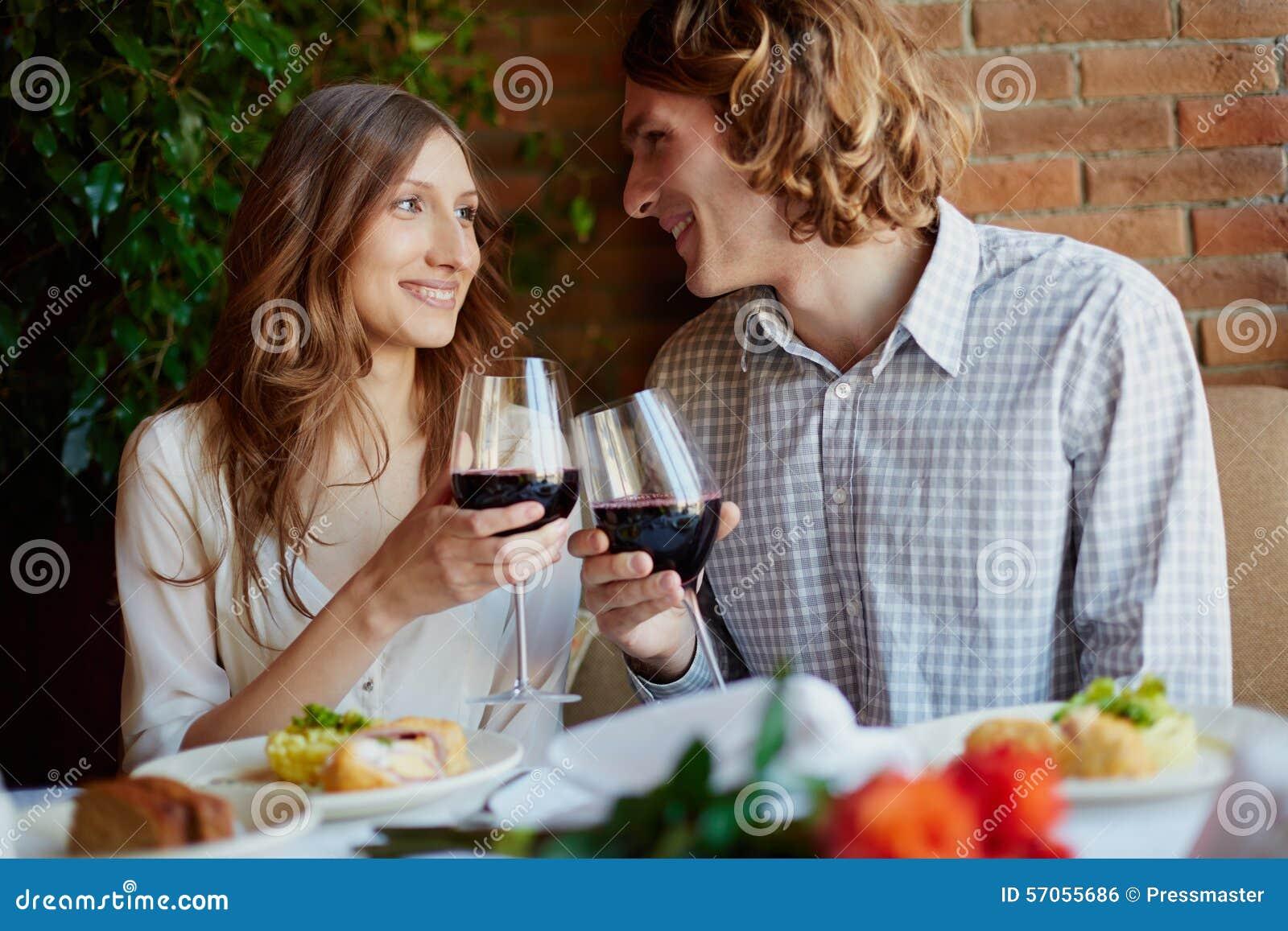 Het drinken voor liefde