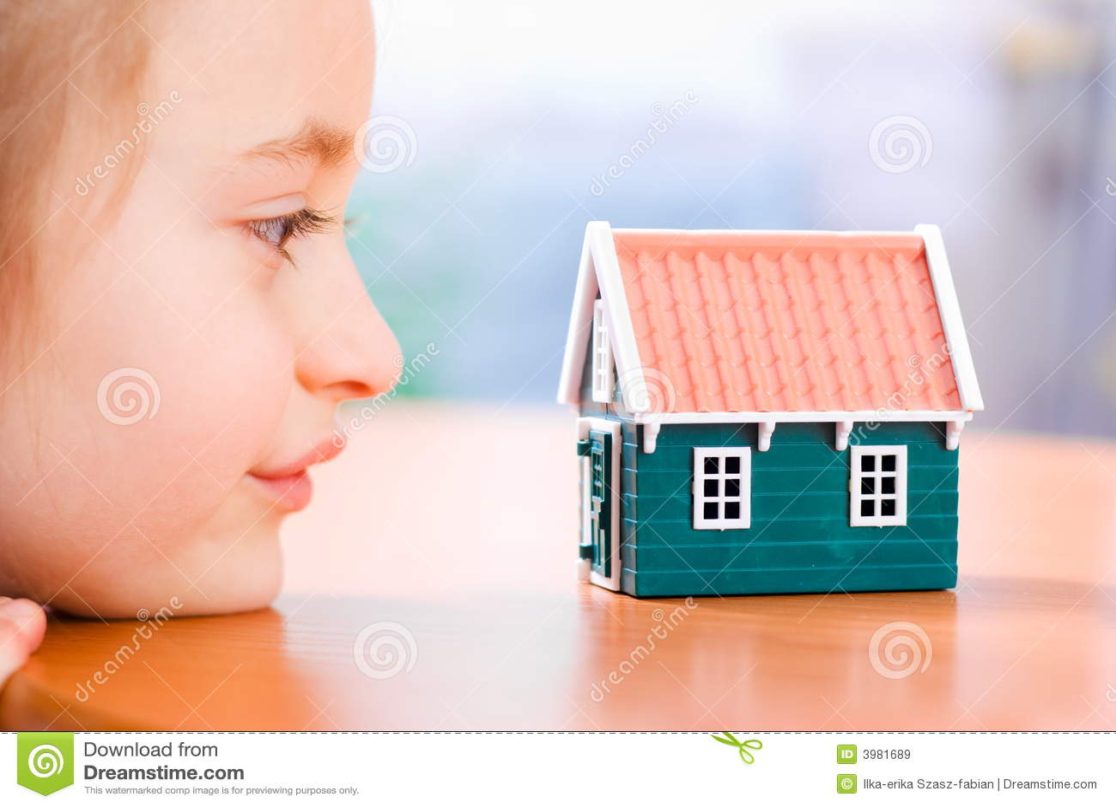 Het dromen over een nieuw huis