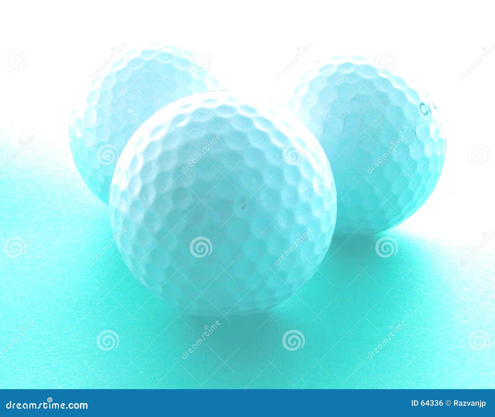 Het dromen van het golf