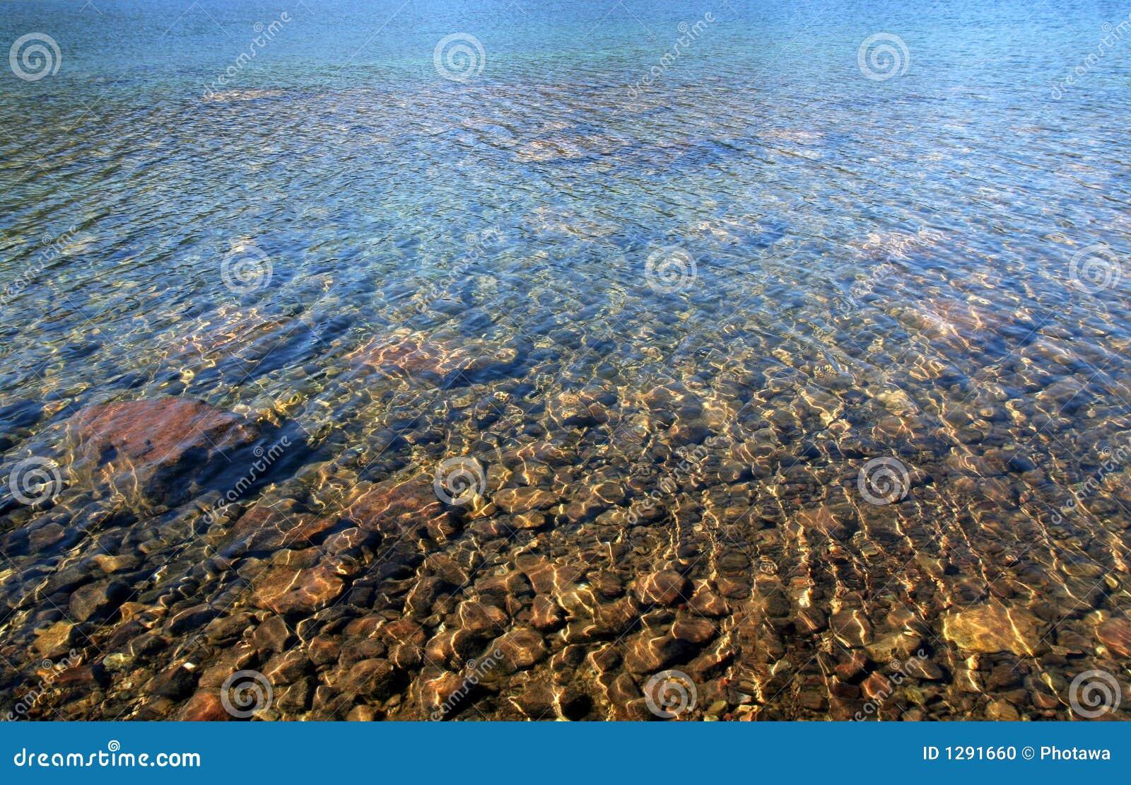 Het Duidelijke en Kleurrijke Meer van Stunningly