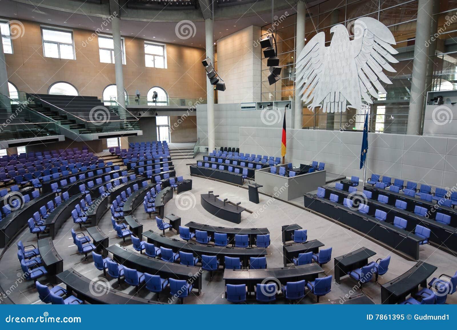 Het Duitse Parlement Reichstag