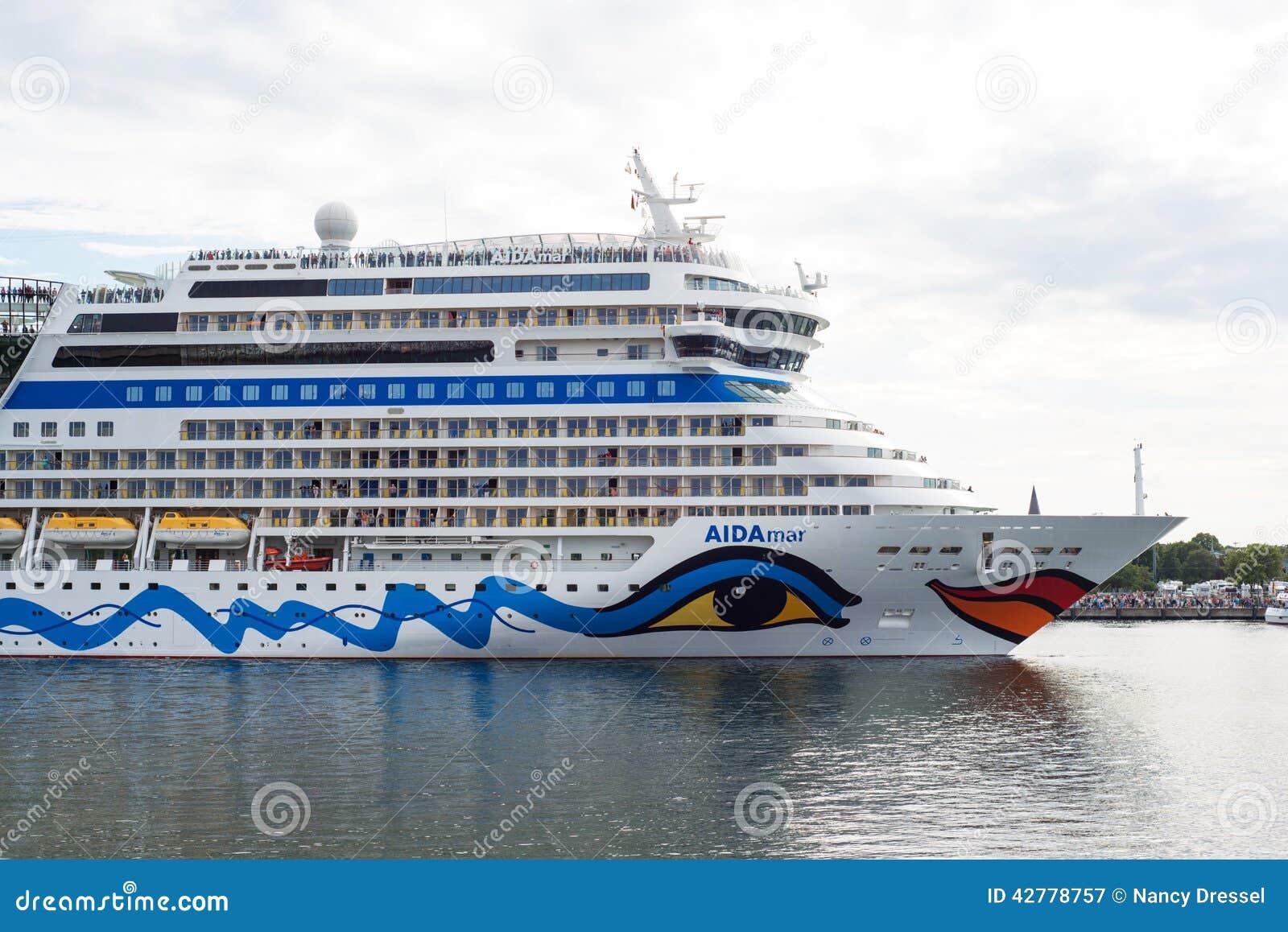 Het Duitse schip Aida Mar van de luxecruise