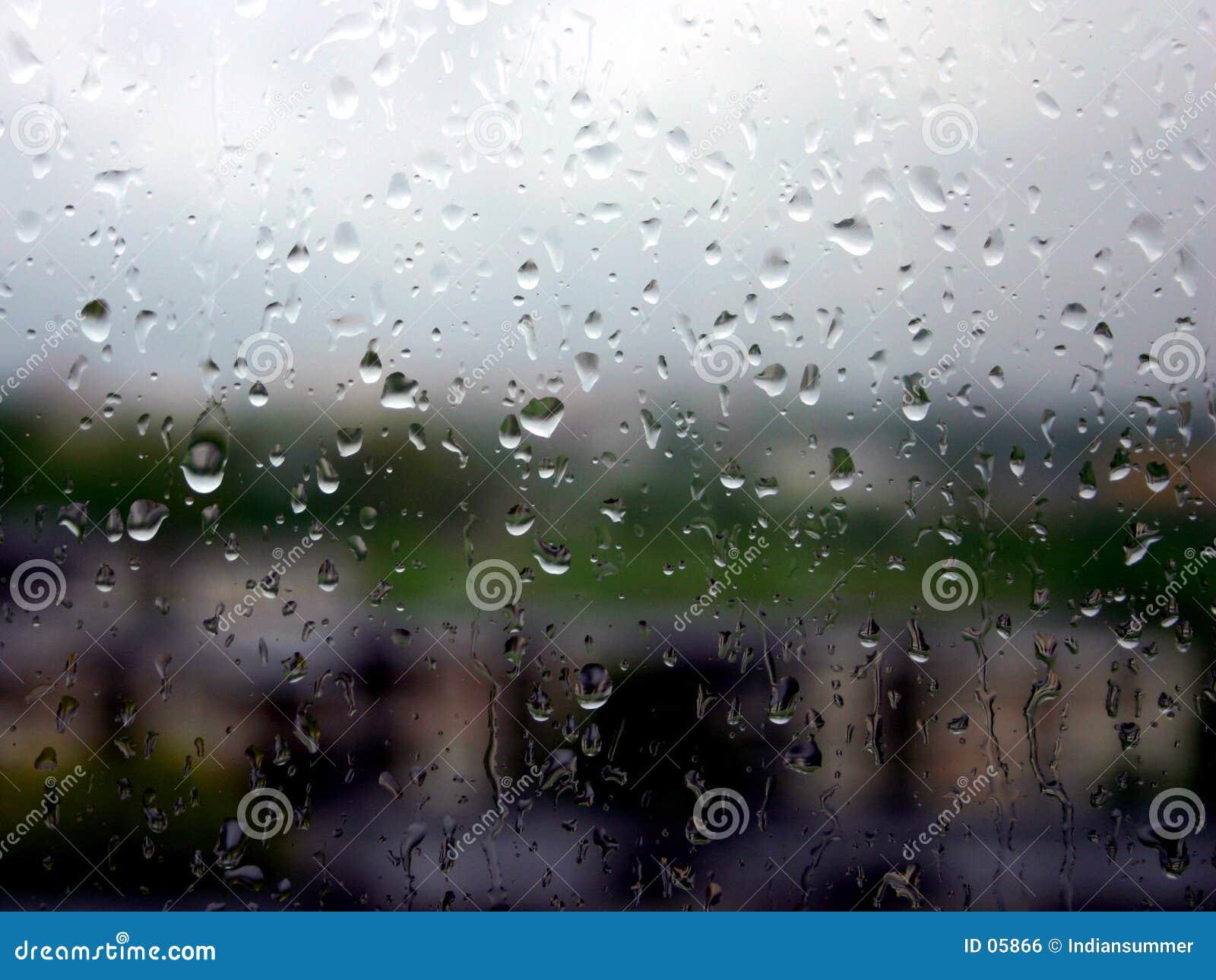 Het is een regenende dag