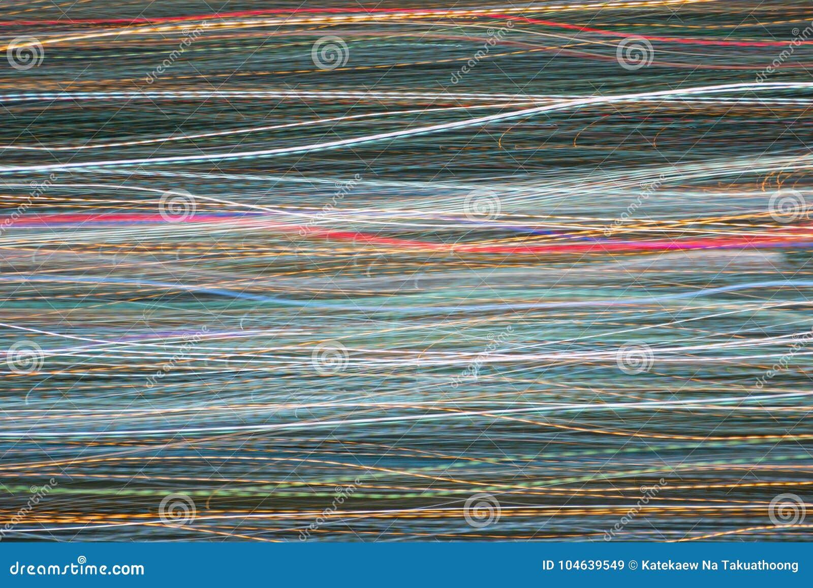 Download Het Effect Van Het Ontploffingsgezoem, Lichte Lijnen Met Lange Blootstelling Stock Afbeelding - Afbeelding bestaande uit kosmisch, kerstmis: 104639549
