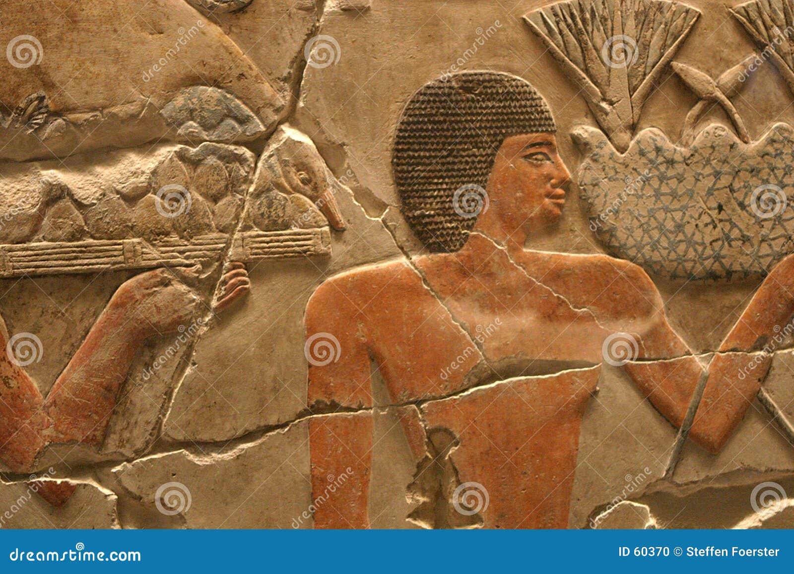 Het Egyptische Kunstwerk van de Tempel