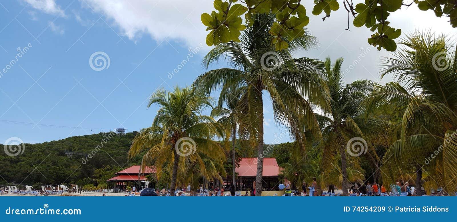Het eiland Labadee Haïti