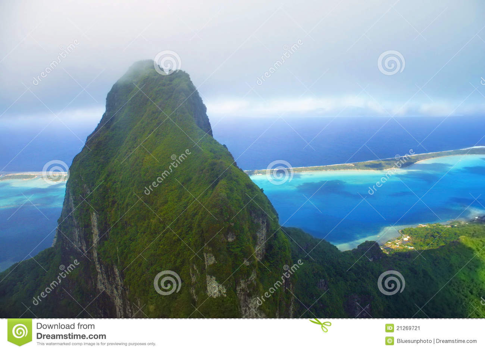 Het Eiland van Bora van Bora