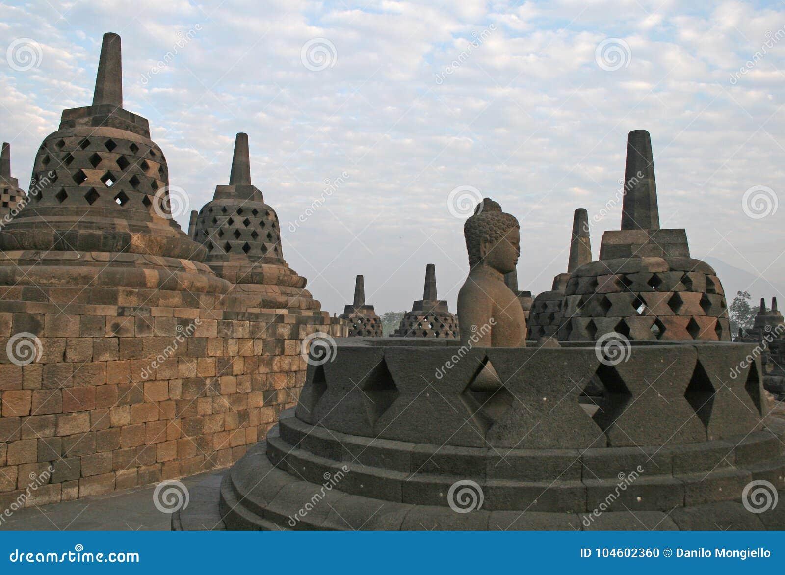 Het eiland van Borobudurjava