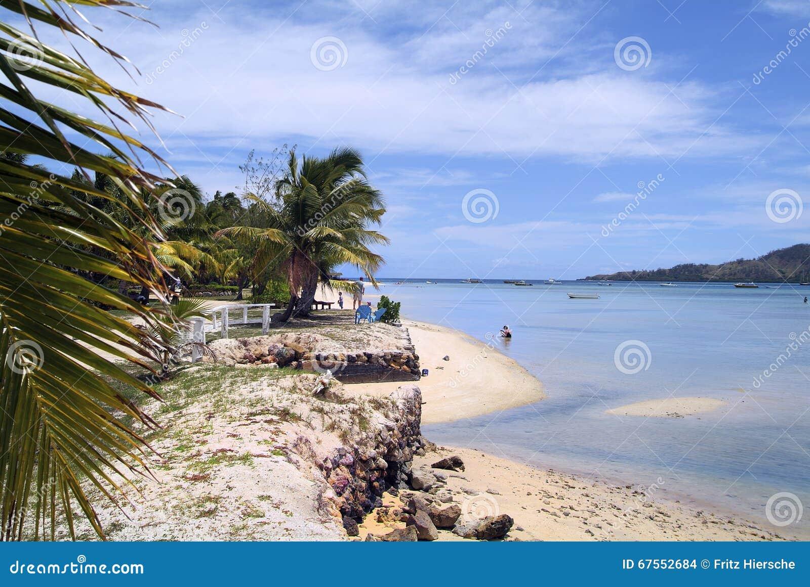 Het Eiland van Fiji,