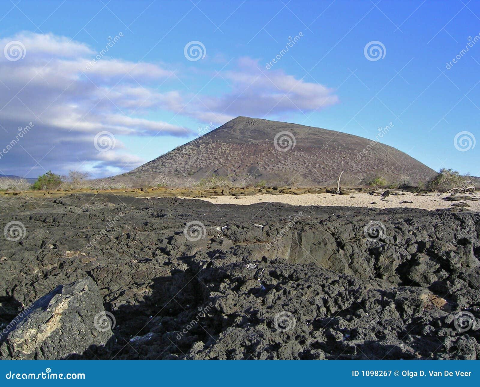 Het eiland van James, de Galapagos