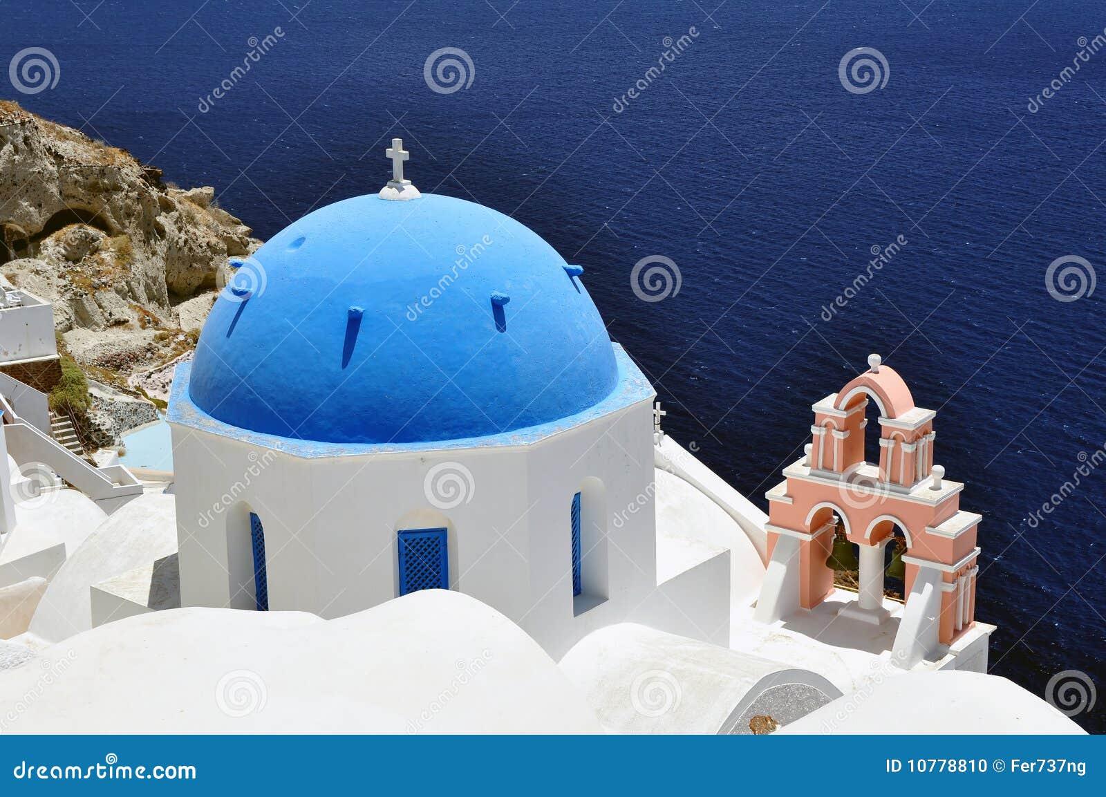 Het Eiland van Santorini