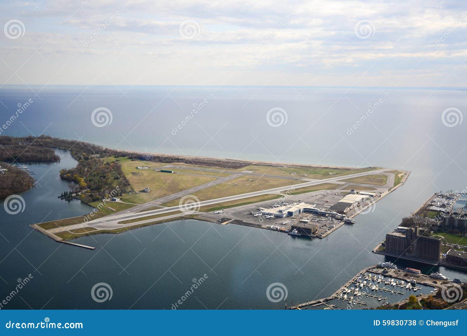 Het Eilandluchthaven van Toronto