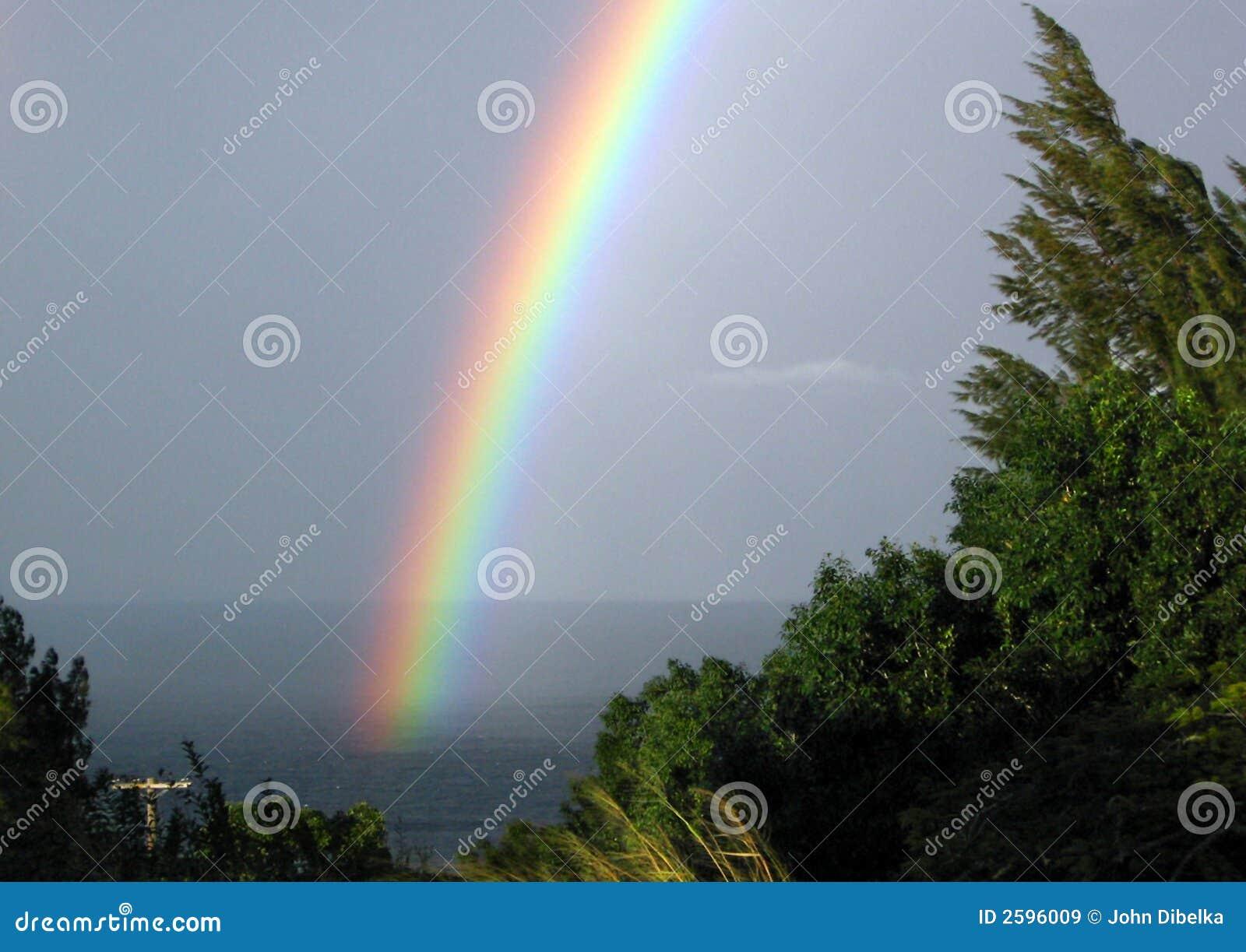 Het Eind Honoka a van de regenboog