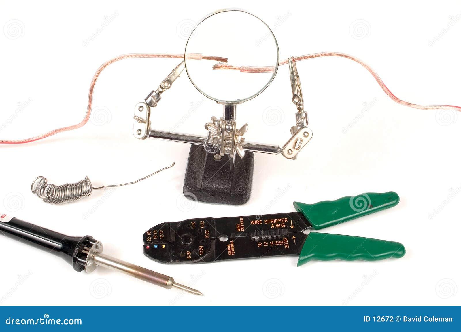Het elektro lopende werk