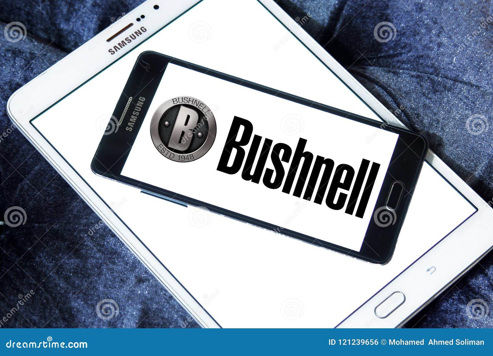 Het embleem van het Bushnellbedrijf