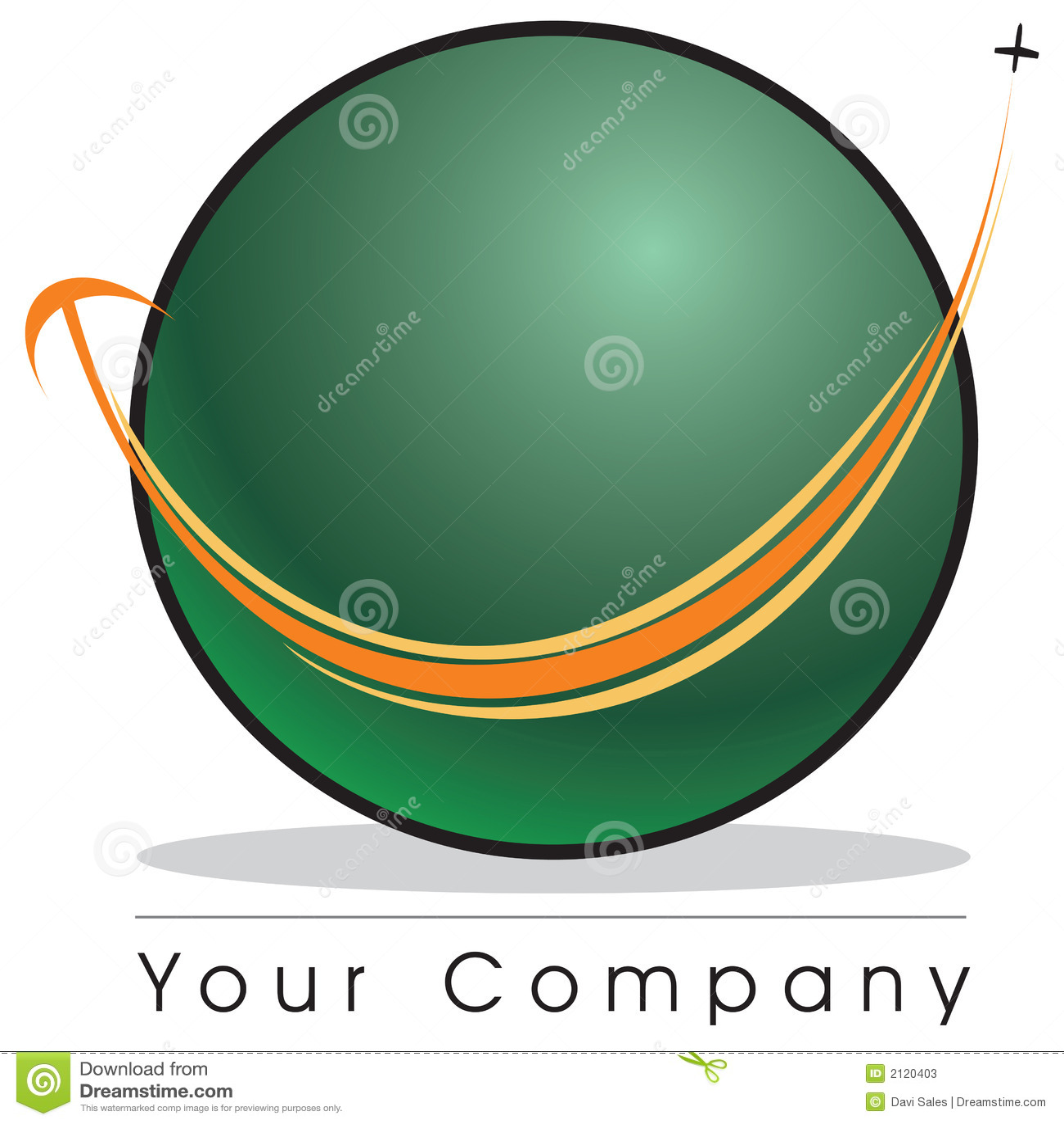 Het embleem van de bol