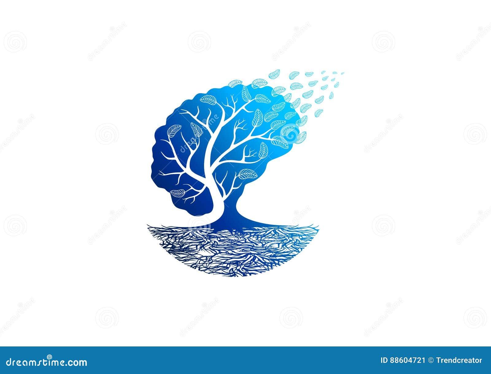 Het embleem van de boompsychologie