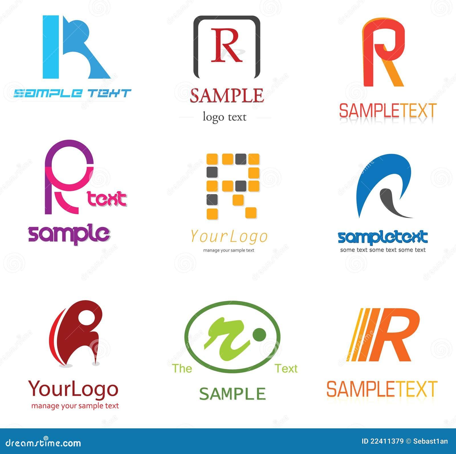 Het Embleem van de brief R