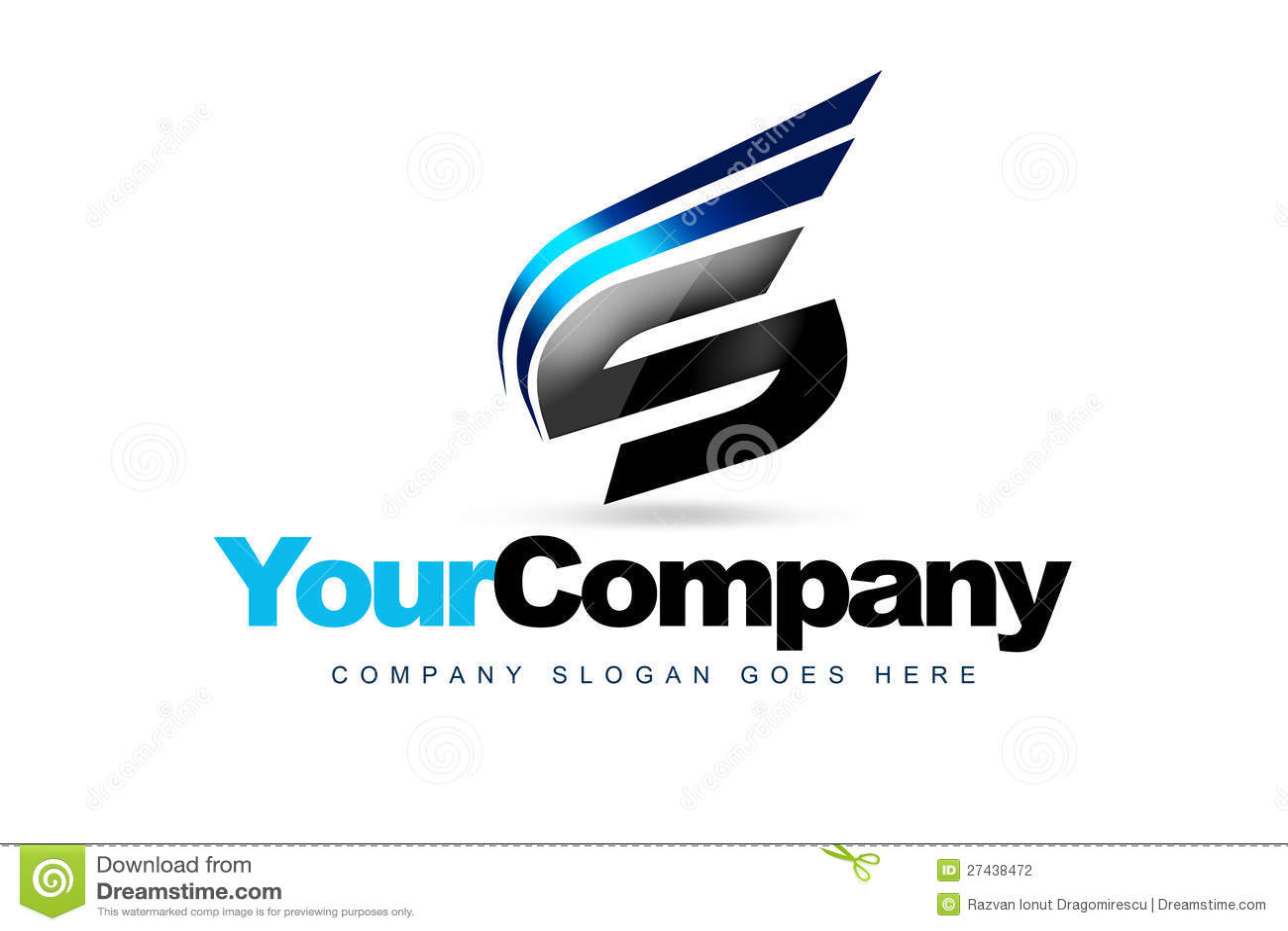 Het Embleem van de brief S