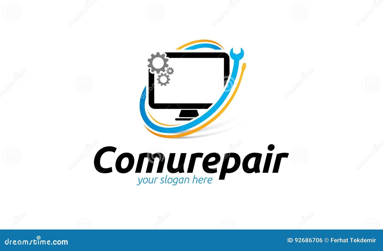 Het Embleem van de computerreparatie