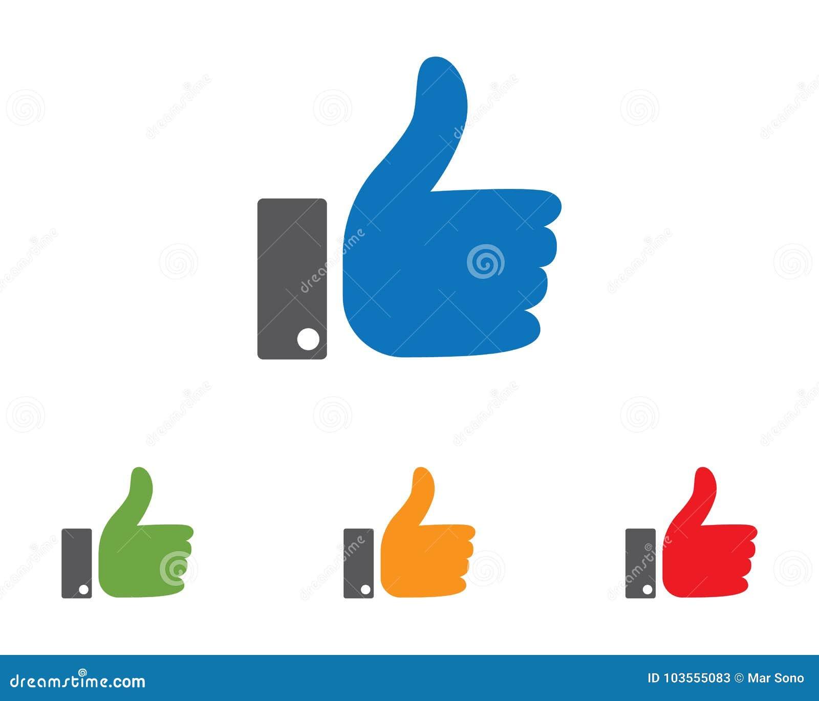 Het embleem van de handhulp en van het symbolenmalplaatje pictogrammen app