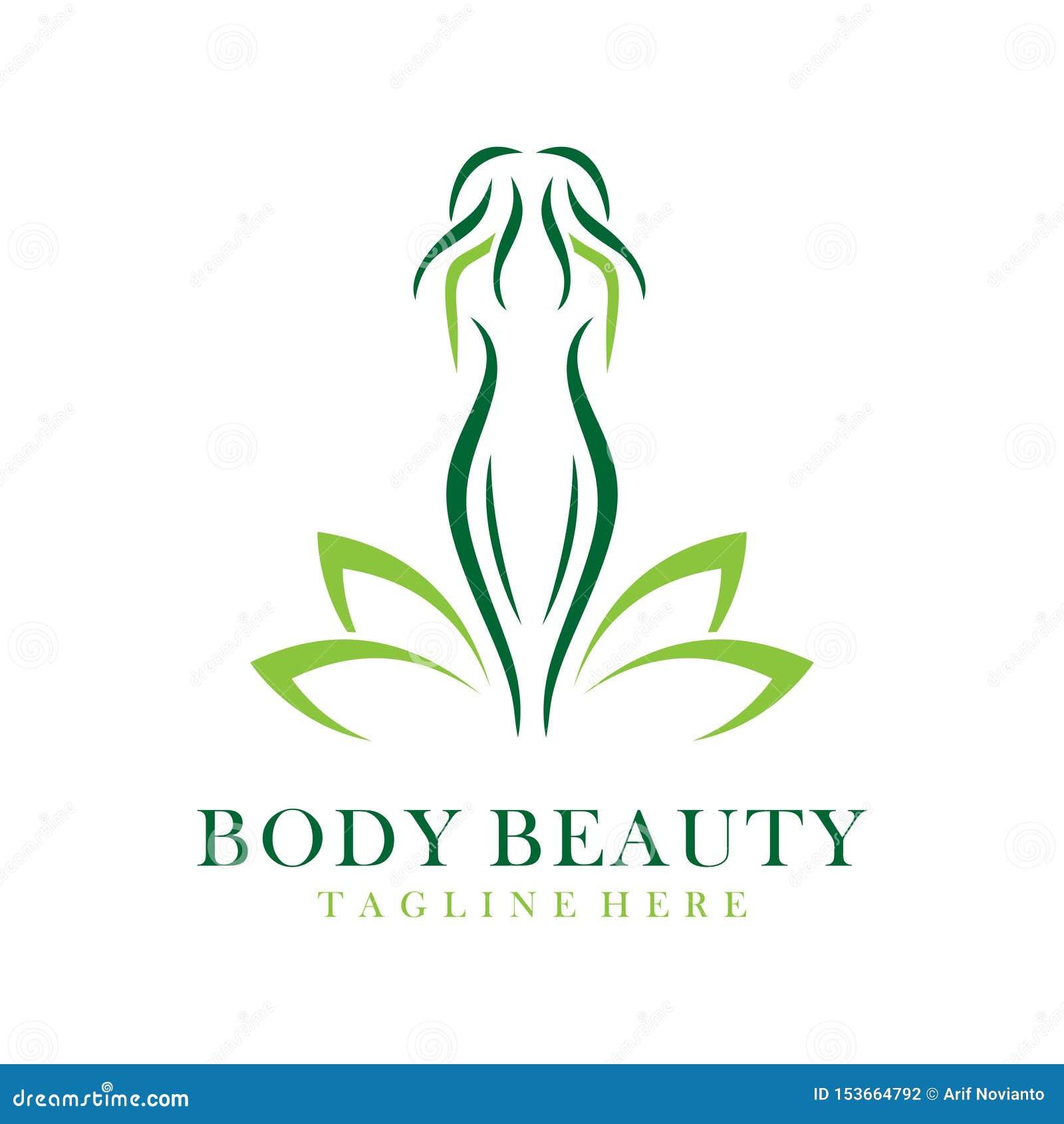 Het embleem van de lichaamsschoonheid