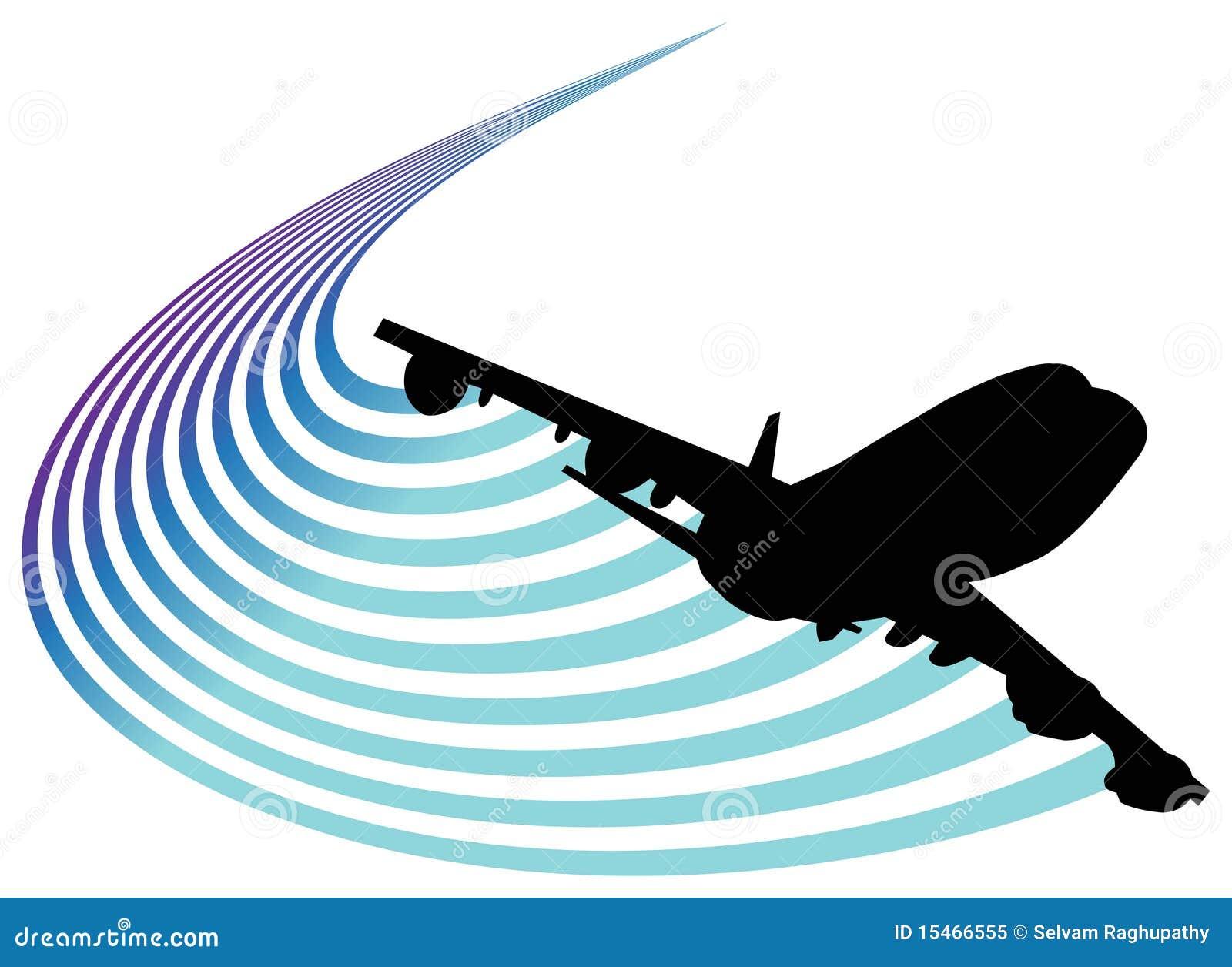 Het embleem van de luchtvaart