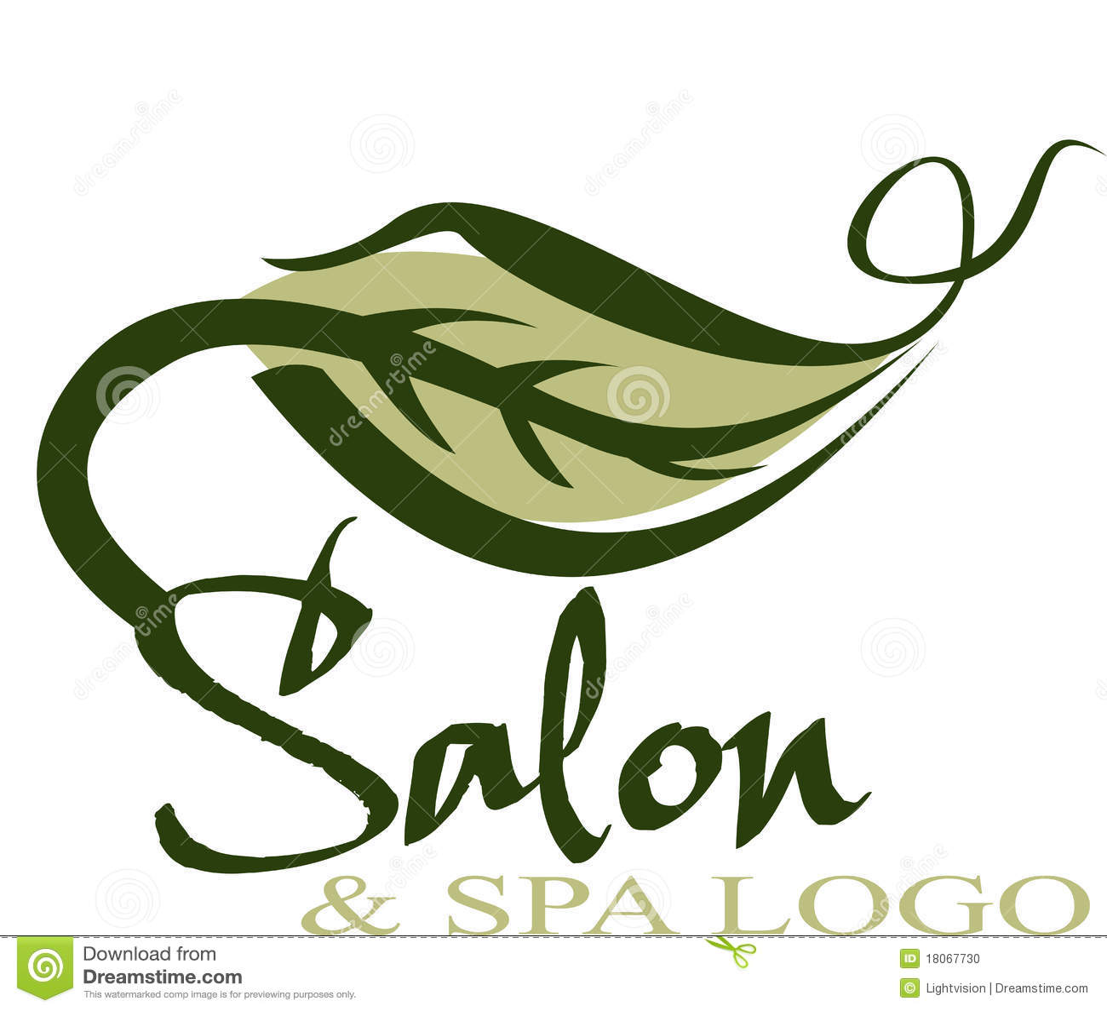 Het embleem van de salon vector illustratie afbeelding bestaande uit kapsel 18067730 - Foto van sallon ...