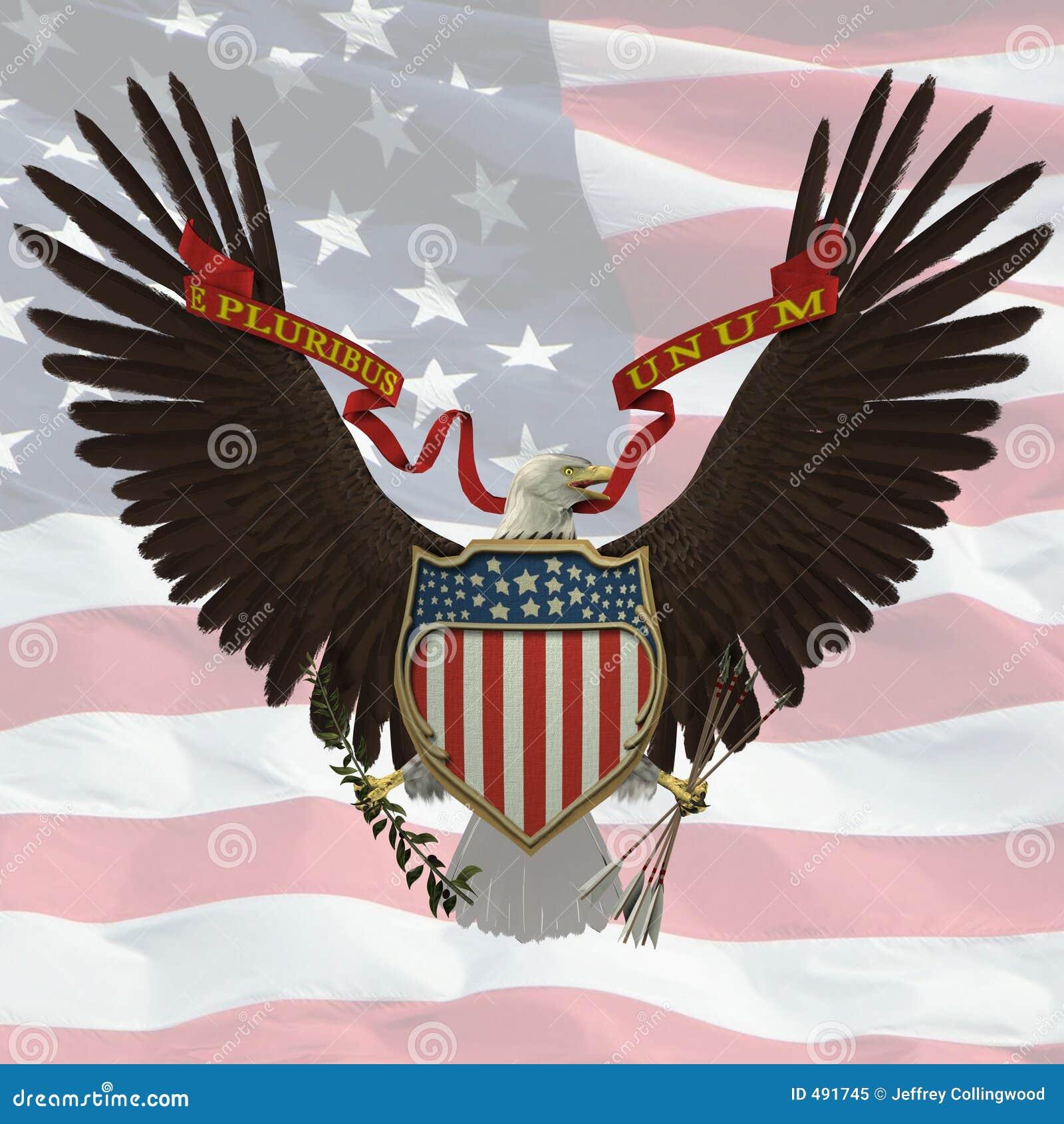 Het Embleem van de V.S.