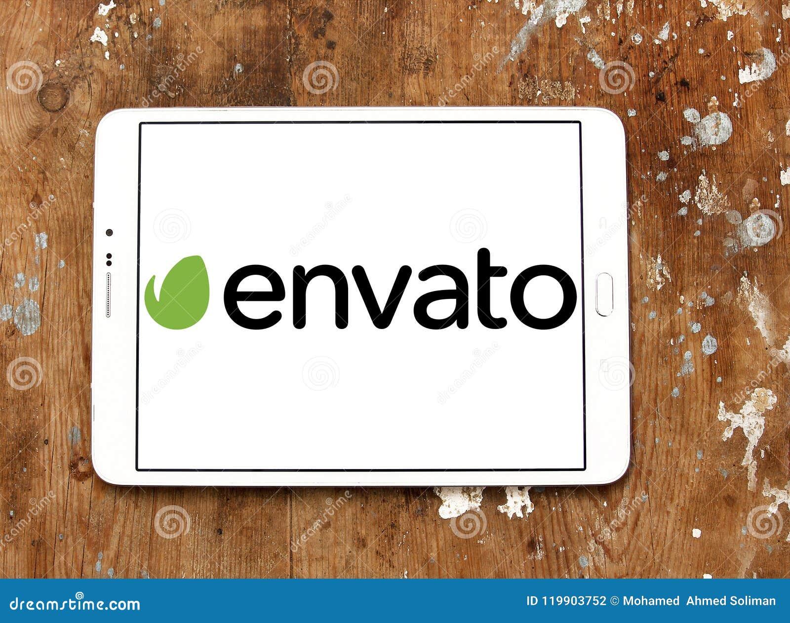 Het embleem van het Envatobedrijf