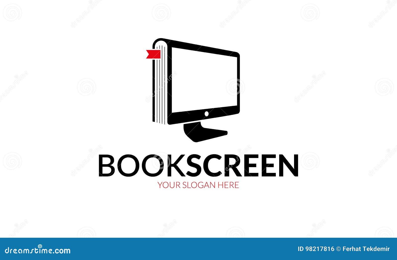 Het Embleem van het boekscherm