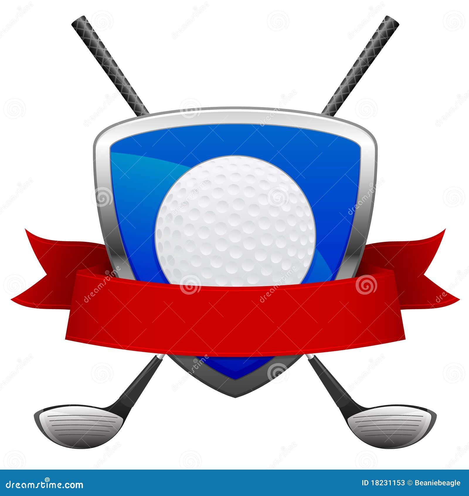 Het Embleem van het golf