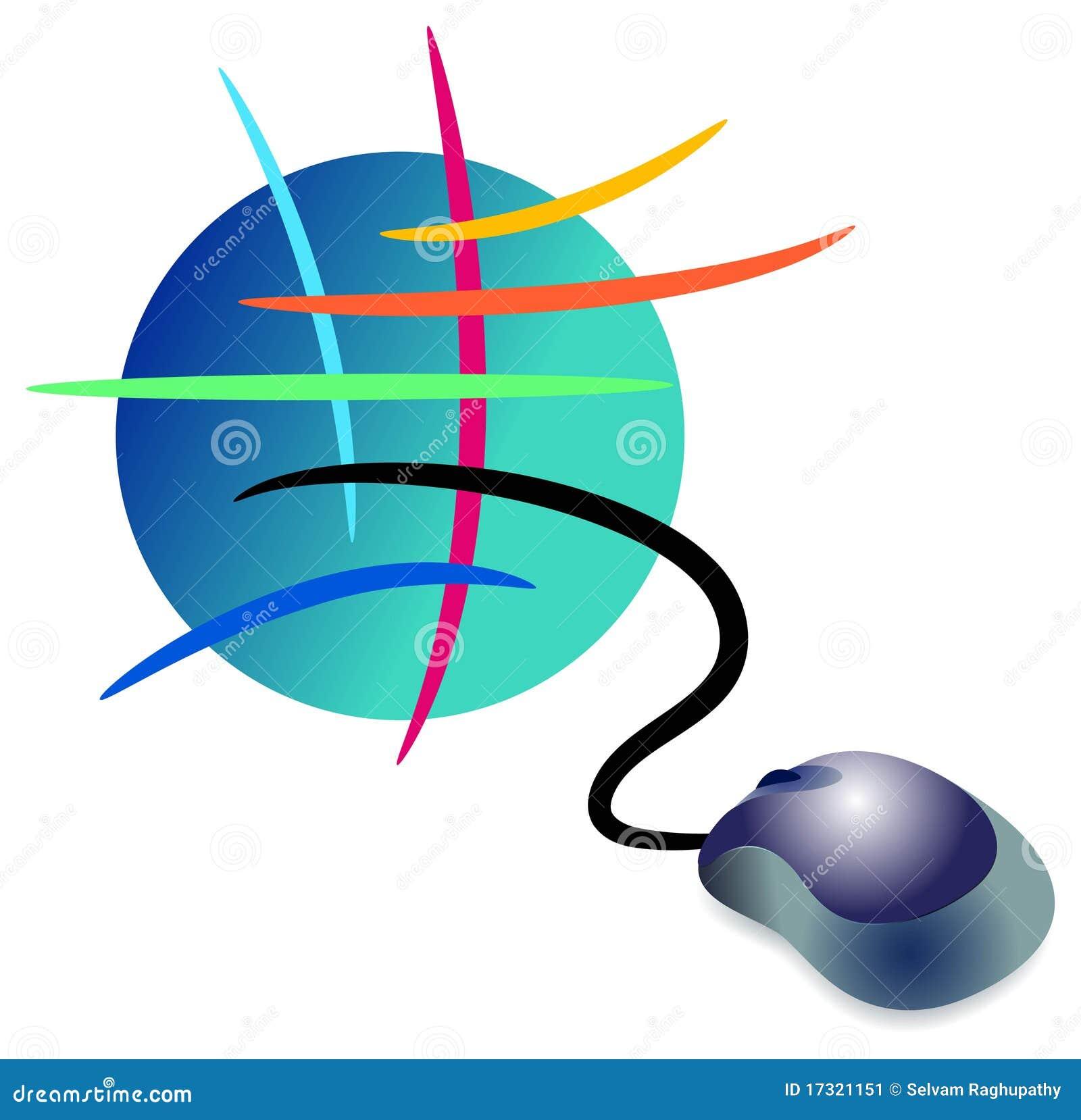 Het embleem van Internet