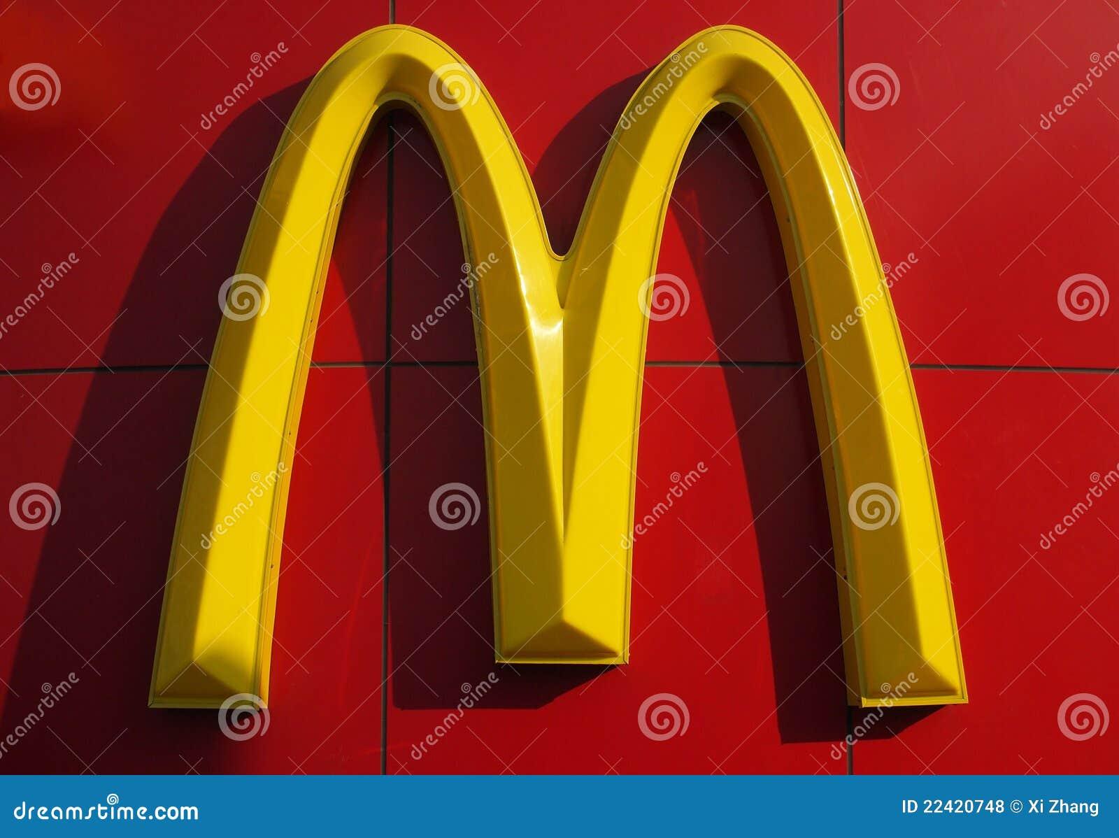 Het Embleem van McDonald