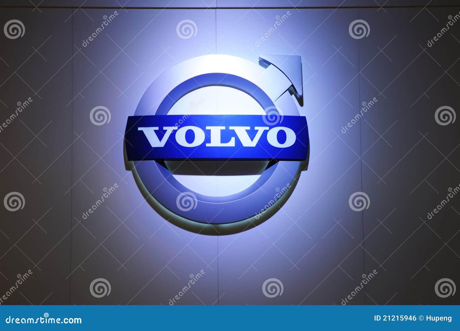 Het embleem van Volvo