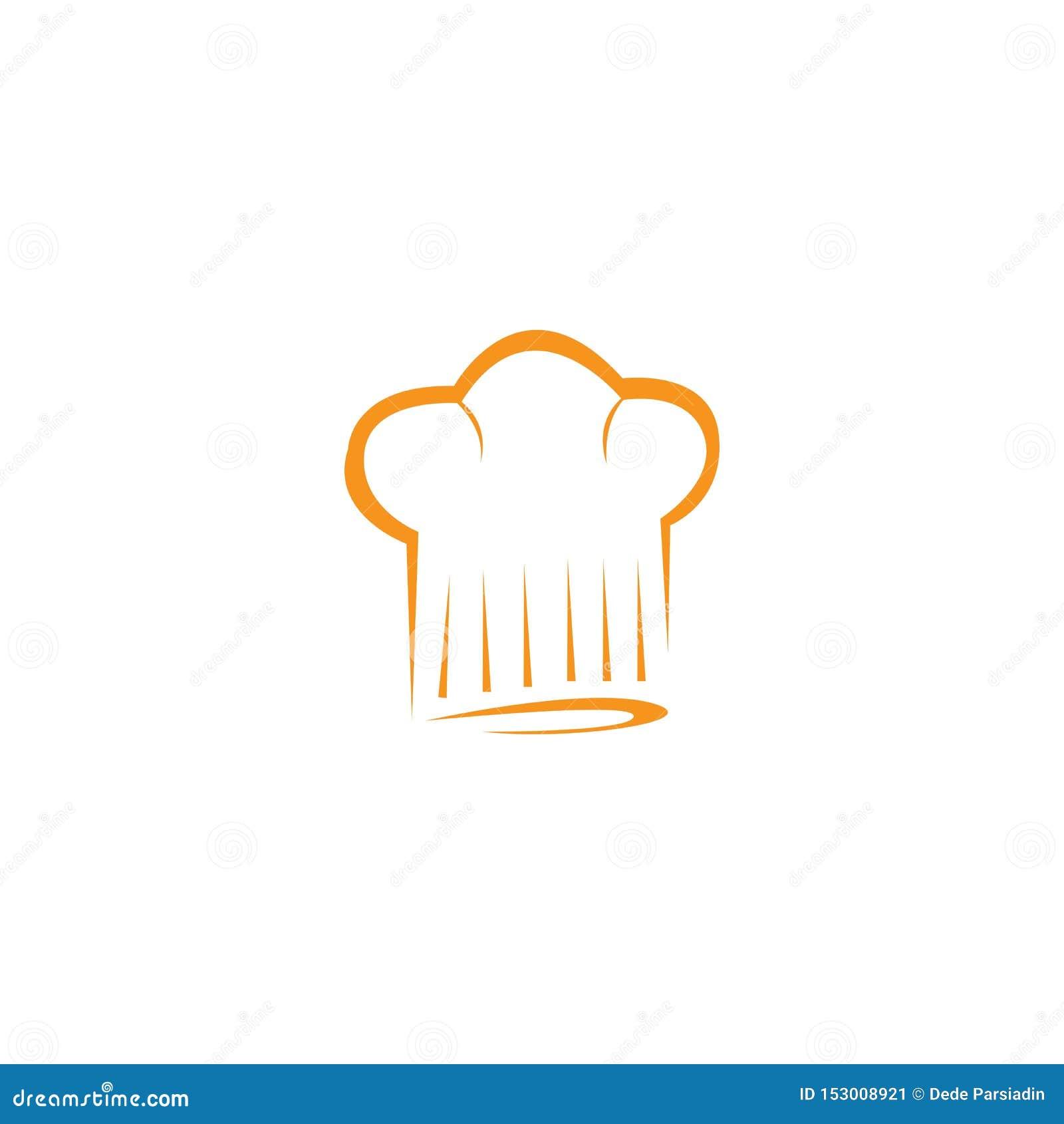 Het embleemmalplaatje van de hoedenchef-kok