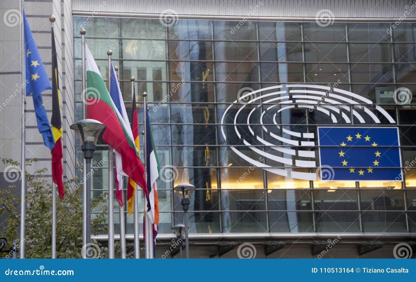 Het Europees Parlement Brussel