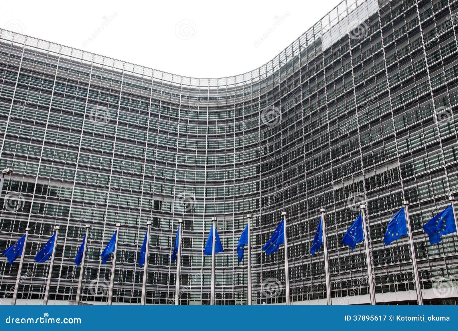 Het Europees Parlement. Brussel, België