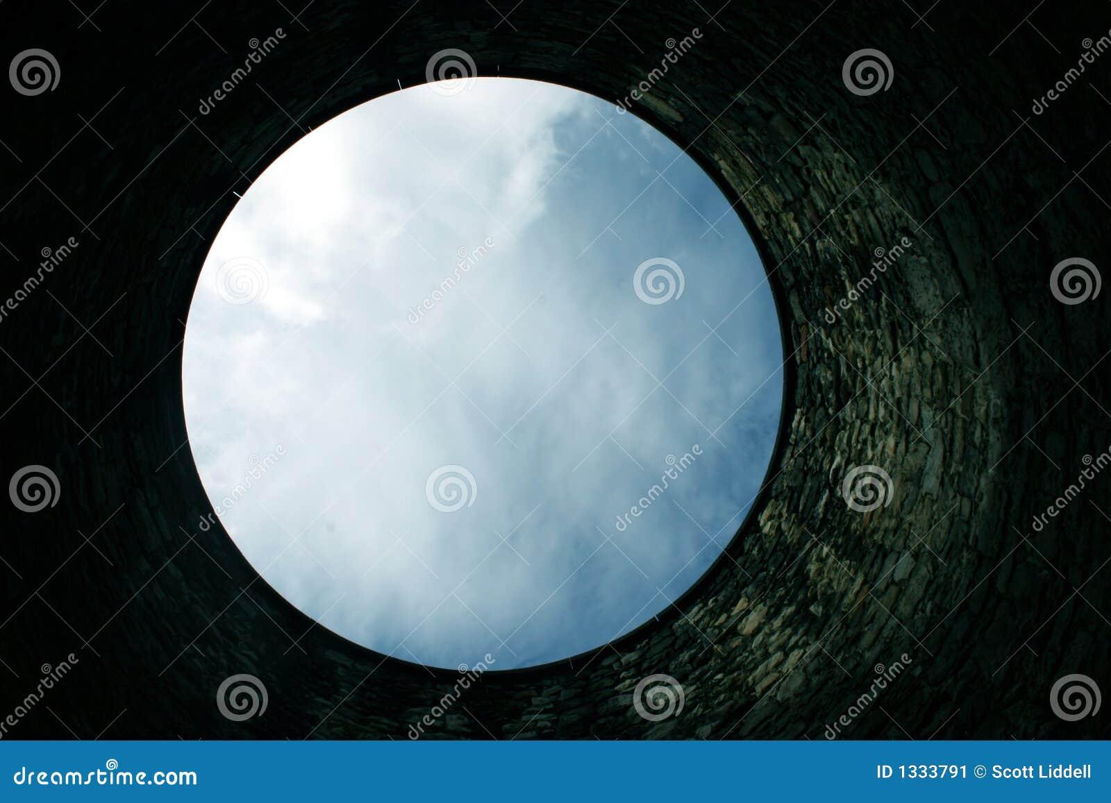 Het exemplaarruimte van de hemel van bodem van goed