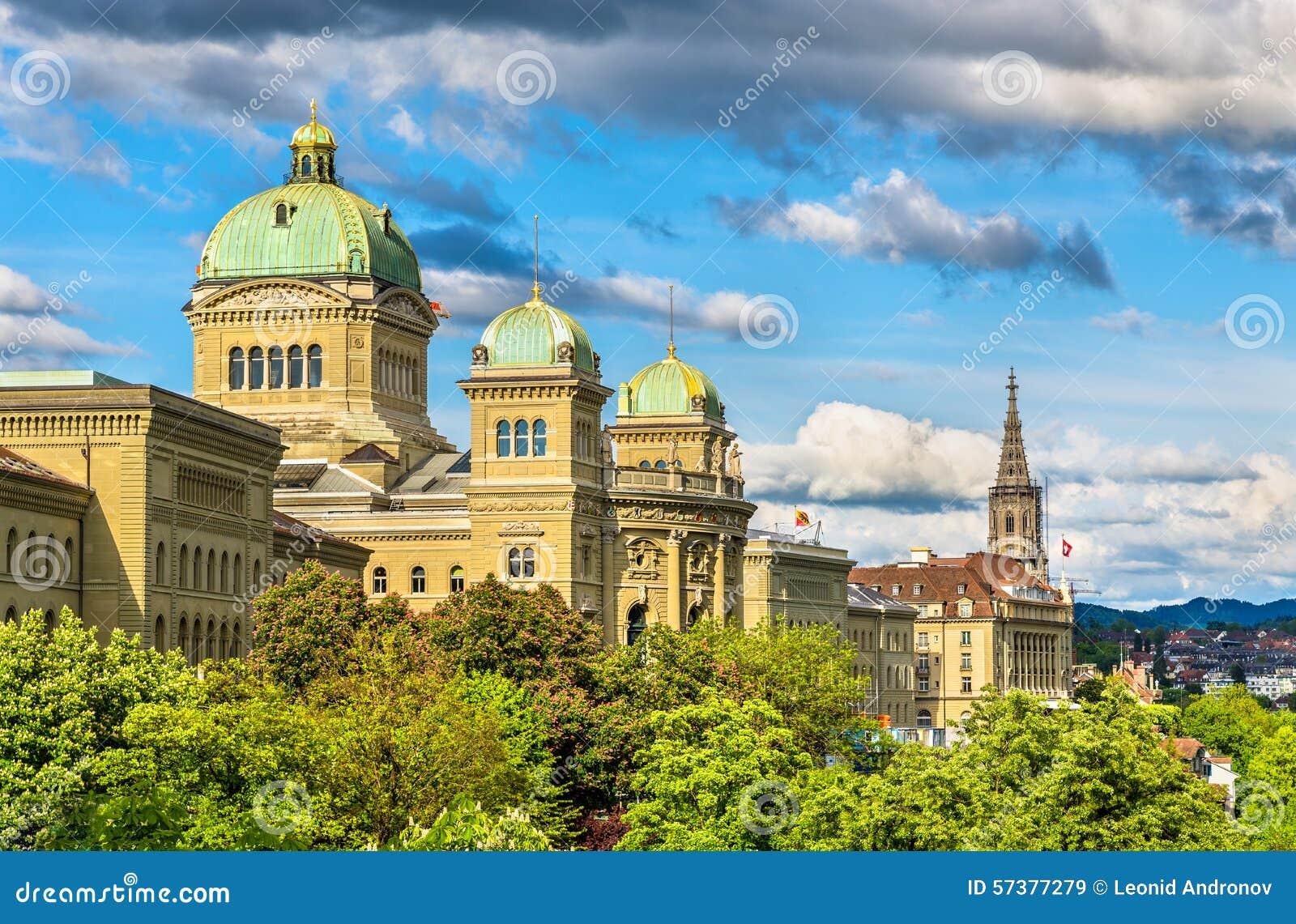 Het Federale Paleis van Zwitserland