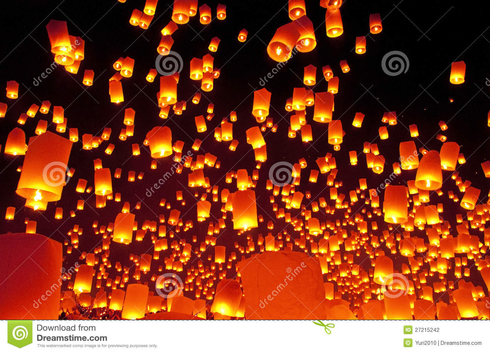 Het festival van het de lantaarnsvuurwerk van de hemel