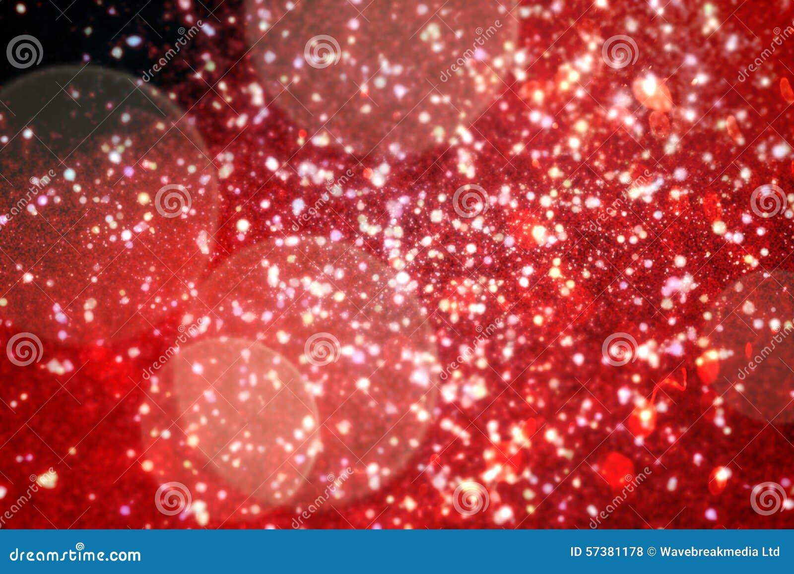 Het flikkeren licht ontwerp op rood