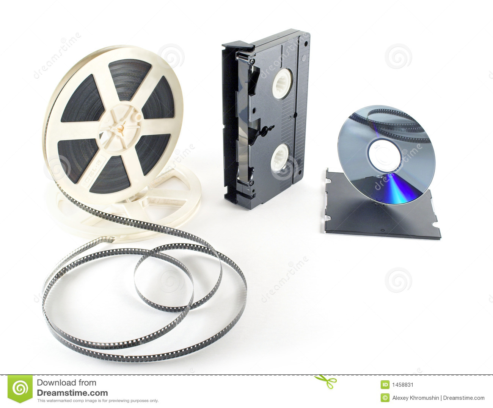 Het formaatVHS DVD van films